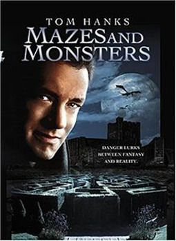 Tom Hanks' first movie. 1982 Mazes and Monsters. A movie about the dangers of Dungeons and Dragons. #D&D