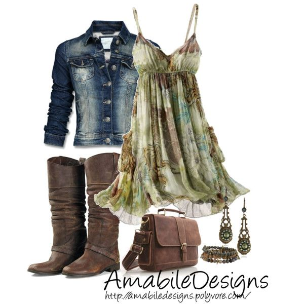 Country Chic, created by amabiledesigns on Polyvore