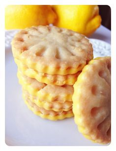 Lemonades girl scout cookie copycat- these were a good lemon shortbread cookie! Not exactly like the girl scout ones, but close enough. They were easy to make considering they're cutout cookies. I really like the addition of lemon extract in addition to zest. Next time I might just try making these in a pan, bar form and drizzle icing over them. Will make again!