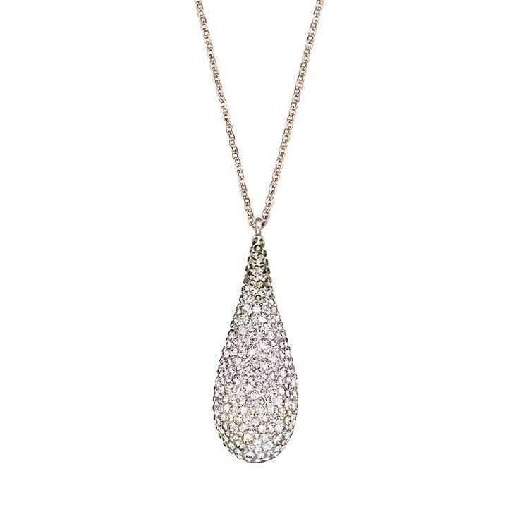 Swarovski Abstract gold-plated crystal pendant - Product number 1738798