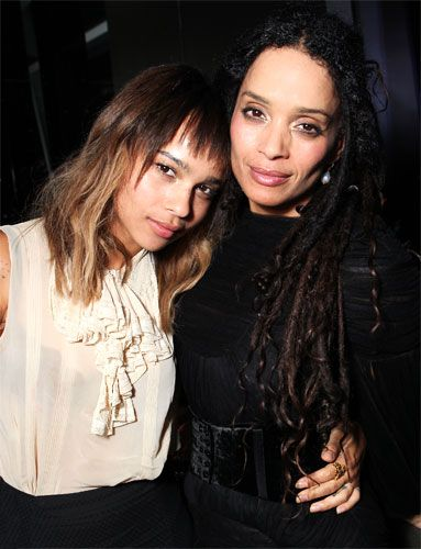 Celebrity Moms and Daughters: #ZoeKravitz is a bit of both of her parents' worlds: She's an actress like #LisaBonet and a rocker like her father Lenny. http://news.instyle.com/photo-gallery/?postgallery=111564#8
