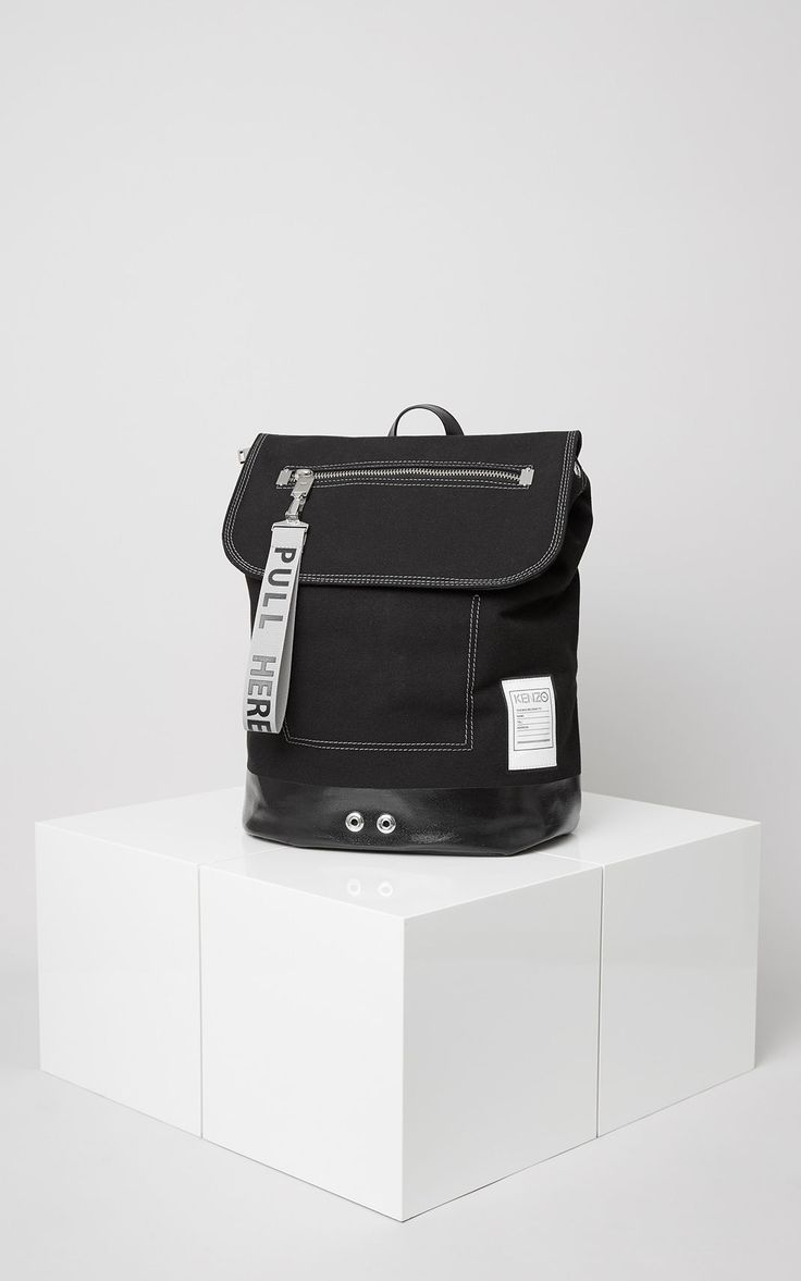 KANVAS Backpack, BLACK, KENZO