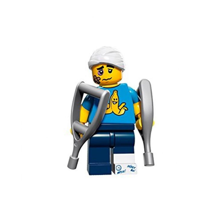Amazon.com: LEGO Series 15 Collectible Minifigure 71011 - Clumsy Guy: Toys & Games
