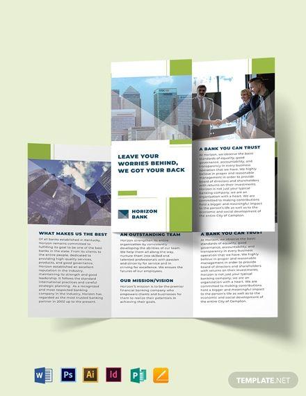 Free Brochure Templates Tri Fold Brochure Word Publisher