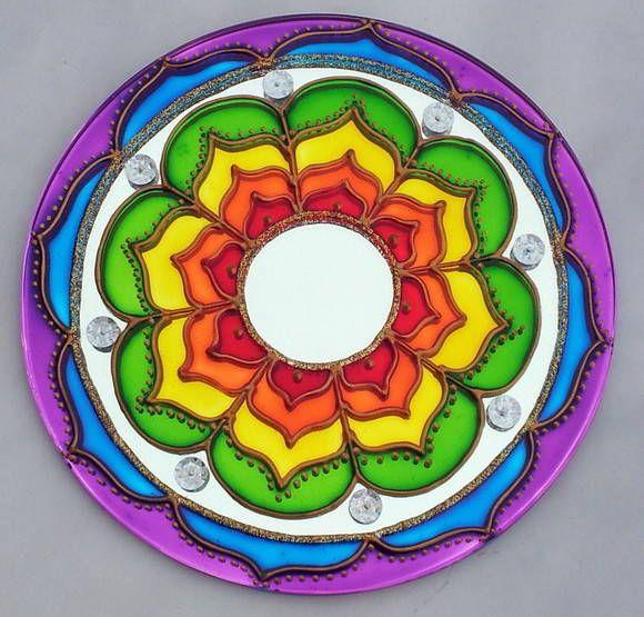 Mandala Vibração das Cores