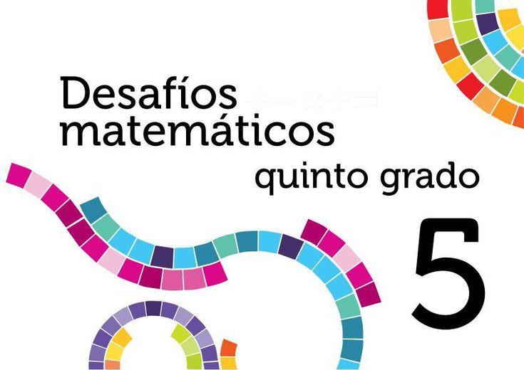 Solucionarios Desafios matemáticos quinto primaria quinto grado Altas capacidades