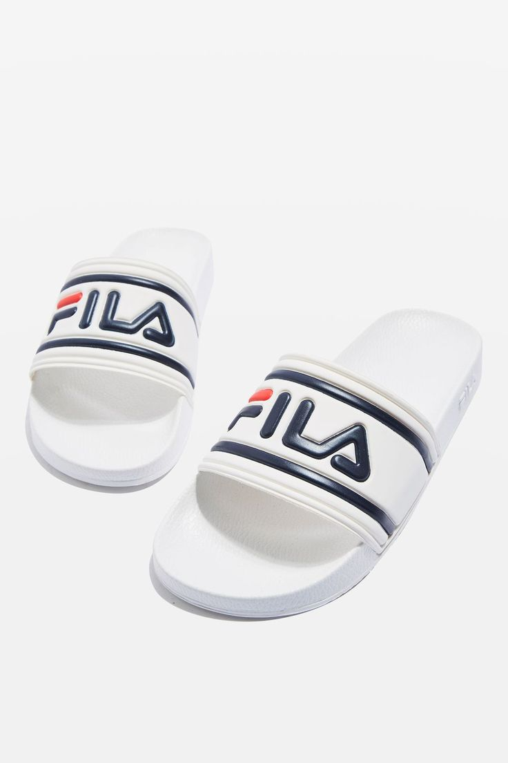 Morro Bay Slides by Fila - New In Shoes - New In - Topshop