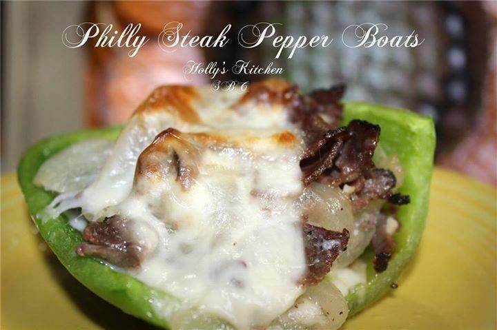 Delicious Keto approved Philly Steak Pepper Boats taste ridiculously amazing! Perfect for your ketogenic diet and easy to make!