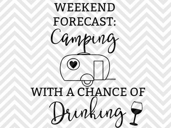 Wochenende-Prognose mit einer Chance von von KristinAmandaDesigns