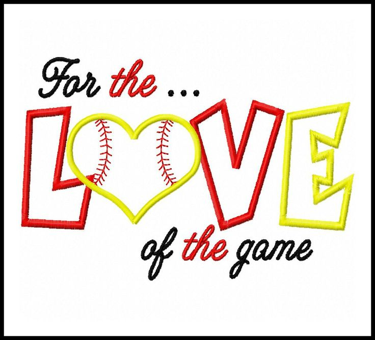 11 best softball images on Pinterest | Appliques, Monogram and ...