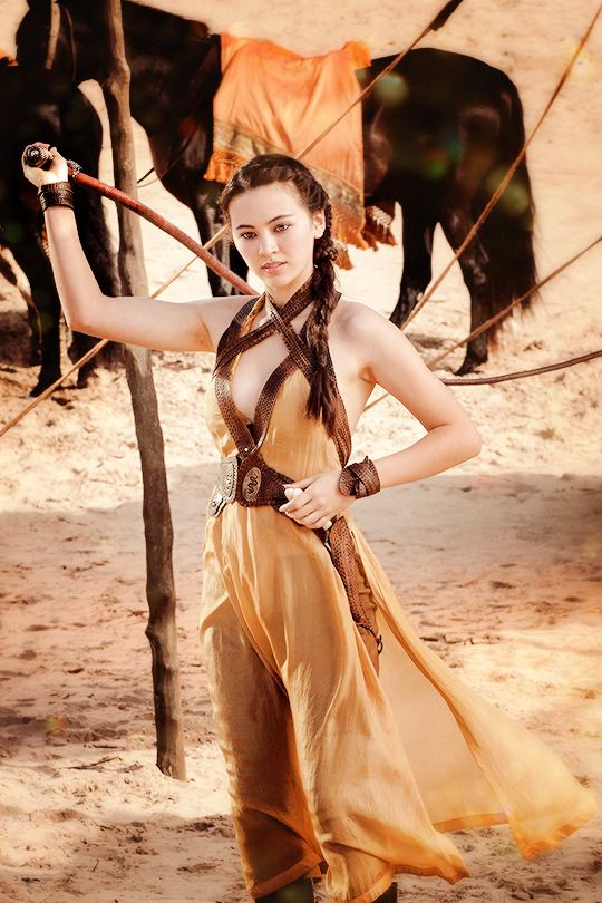 "Nymeria ""Nym"" Sand - Jessica Henwick in Game of Thrones Season 5 (TV series)."