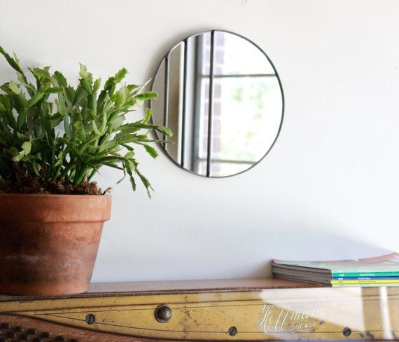 1000 Ideas About Circle Mirrors On Pinterest: Large Round Mirror, Hall Way And Hallway Mirror