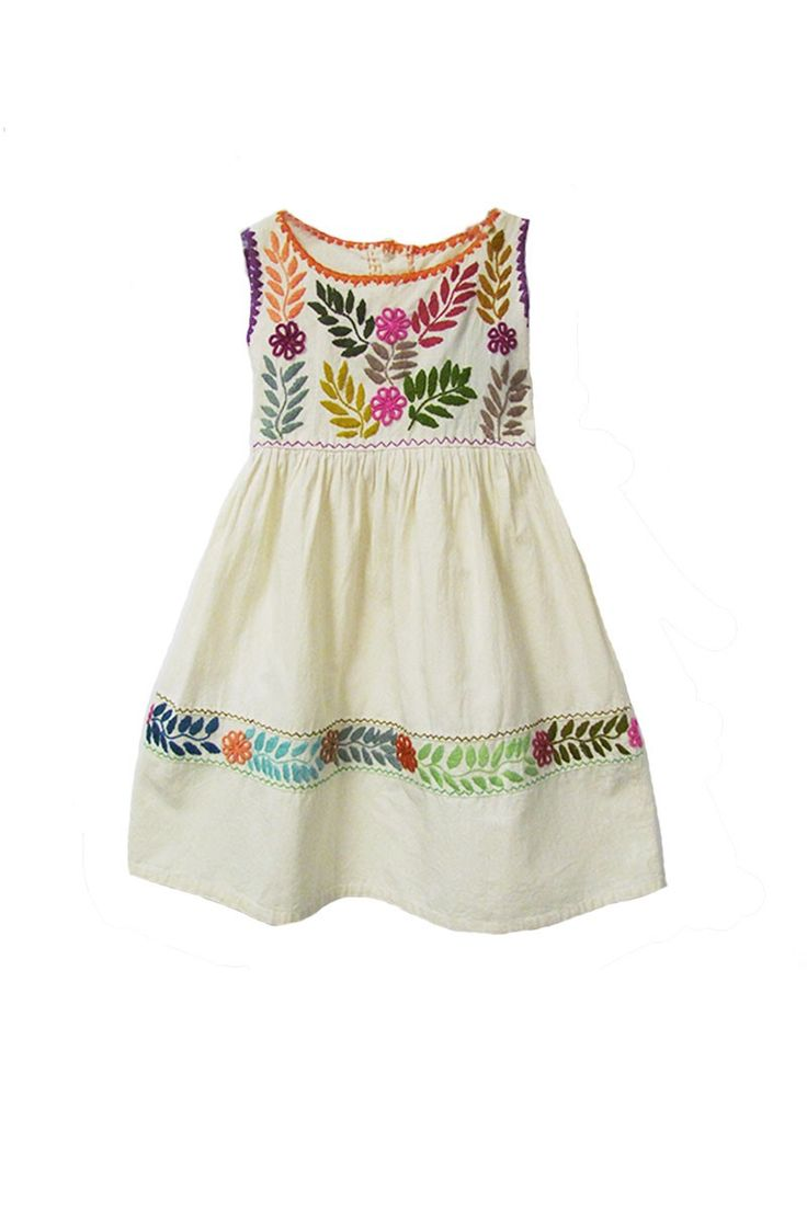 $35.00 Chiapas Girls Dress