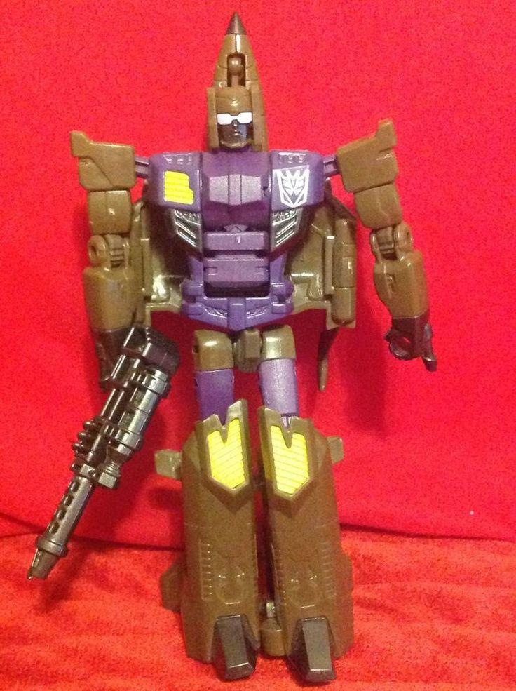 Hasbro Transformers Evil Decepticon Fighter Jet  with Weapon  #Hasbro