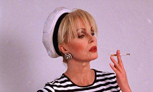 There have long been slight references to her being a man - and now Joanna Lumley has revealed that her Ab Fab character, Patsy Stone is transgender.