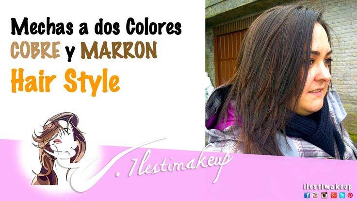 Mechas de dos colores, cobre y marron. HairStyle En este video voy a realizar unas mechas bicolor. Los tonos que voy a utilizar son los siguientes: -Tinte Koleston de Wella numero 8/34 a 20Vº -Tinte Koleston de Wella numeros 7/07 + 8/07 (a partes iguales) a 20Vº Voy a ir alternando los dos tonos.  Despues lo peinare en liso para que veais bien el resultado.  #makeup #makeupartist #maquillaje #maquilladora #peluquera #hairstyle #peinados #cabello #recogidos #trenzas #belleza #tutorial