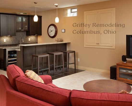 unfinished basement decorating ideas cheap bar designs party for family room