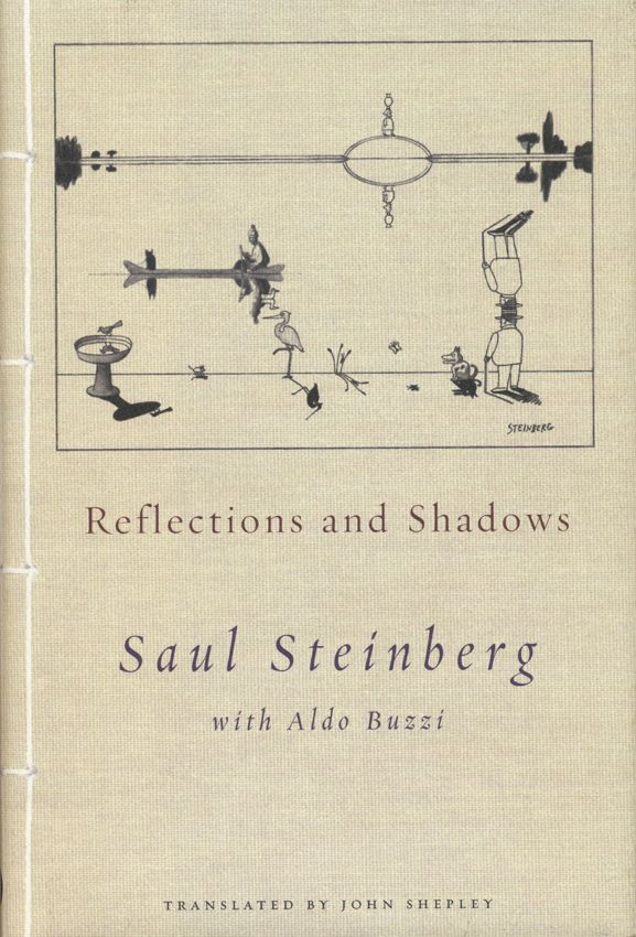 Book Jacket / Saul Steinberg / Reflections and Shadows | by steveartist