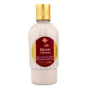 L'Occitane Rose 4 Reines Shimmering Body Gel - 250ml/8.4oz by L'Occitane. $23.57. A nourishing fragranced body gel Enriched with natural origin mother-of-pearl that creates a subtle iridescent veil on skin Infused with a fresh, delicate & velvety rose fragrance Body skin appears softer, smoother & more radiant. Save 40% Off!