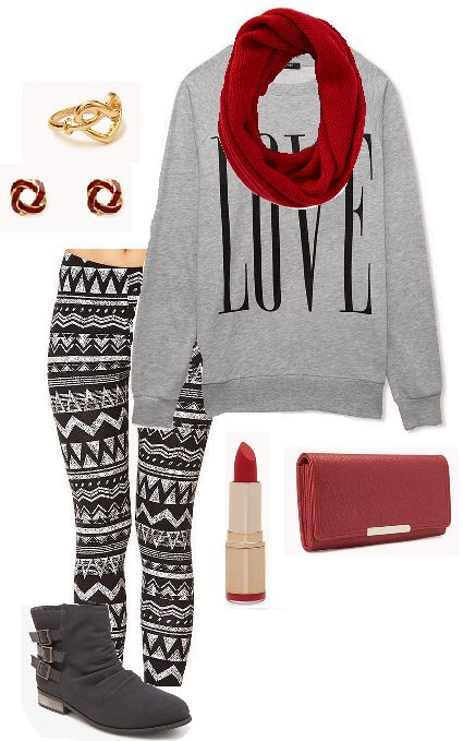 Forever 21 winter outfit, winter casual is so cute #ForeverHoliday
