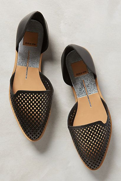 Dolce Vita Laynie D'Orsay Flats #anthropologie