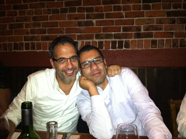 Yotam Ottolenghi & Sami Tamimi drunk from signing so many copies of Jerusalem!