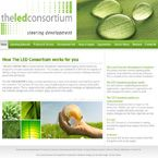 theledconsortium website construction by Nuleaf.