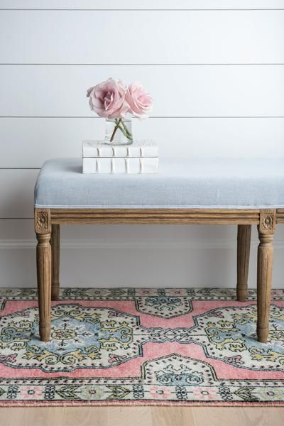 A celebration of both past and present, the Soleil rug gives a fresh splash of color to a traditional Persian pattern. Incredibly soft underfoot, our Persian style rugs are unique and timeless. | Caitlin Wilson