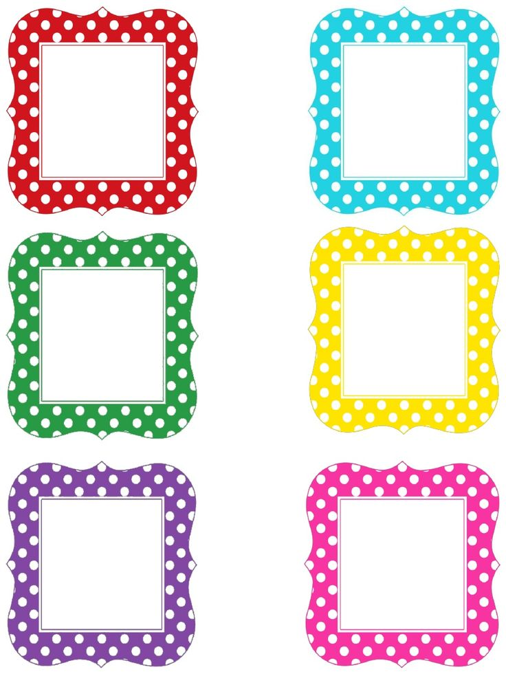 Multi Polka Dot Letters Upper and Lower