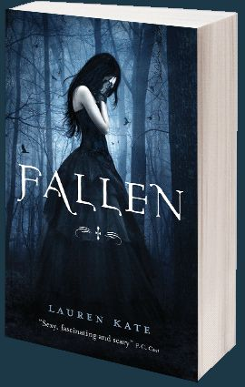 """""""17-year-old Lucinda falls in love with a gorgeous, intelligent boy, Daniel, at her new school, the grim, foreboding Sword & Cross . . . only to find out that Daniel is a fallen angel, and that they have spent lifetimes finding and losing one another as good & evil forces plot to keep them apart. """""""