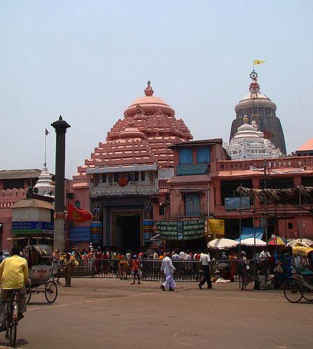 Puri Jagannath Temple in Orissa
