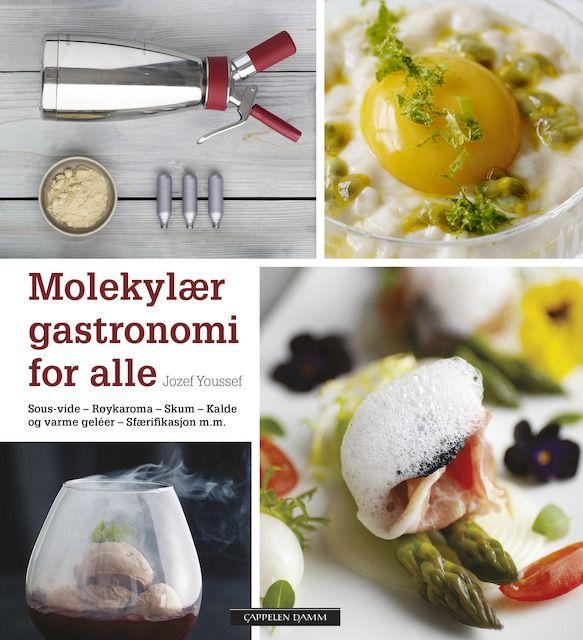 Første bok på norsk om molekylær gastronomi. For matentusiaster som vil overraske sine venner med uventede smaker og konsistenser på mat!