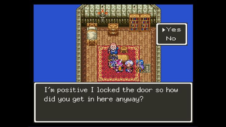 [Dragon Quest 3] Dude what?