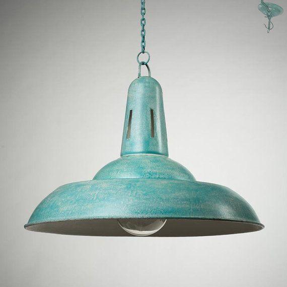 Old Fashioned Metal Lamp Shade: Large Ceiling Lamp Shade Lighting Fixture Metal Handmade
