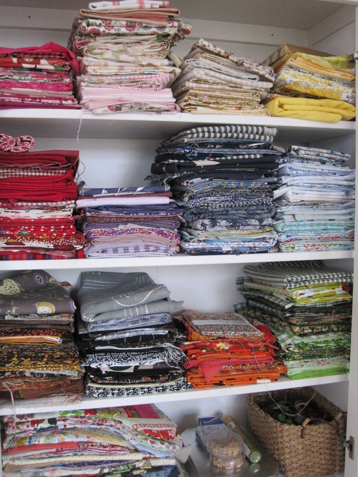 fabrics in my room.