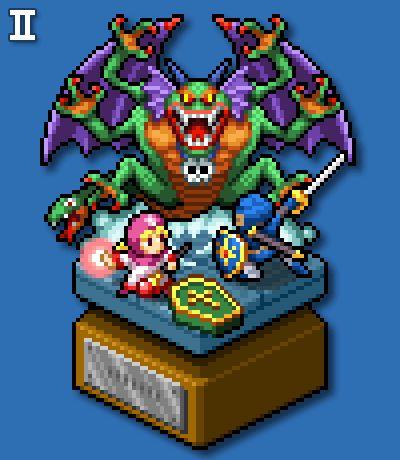 【ドットヴィネット】ドラゴンクエストII blog.ta2nb.main.jp/