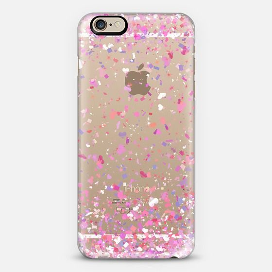 Love Confetti Explosion Transparent iPhone 6 Case by Organic Saturation | Casetify. Get $10 off using code: 53ZPEA