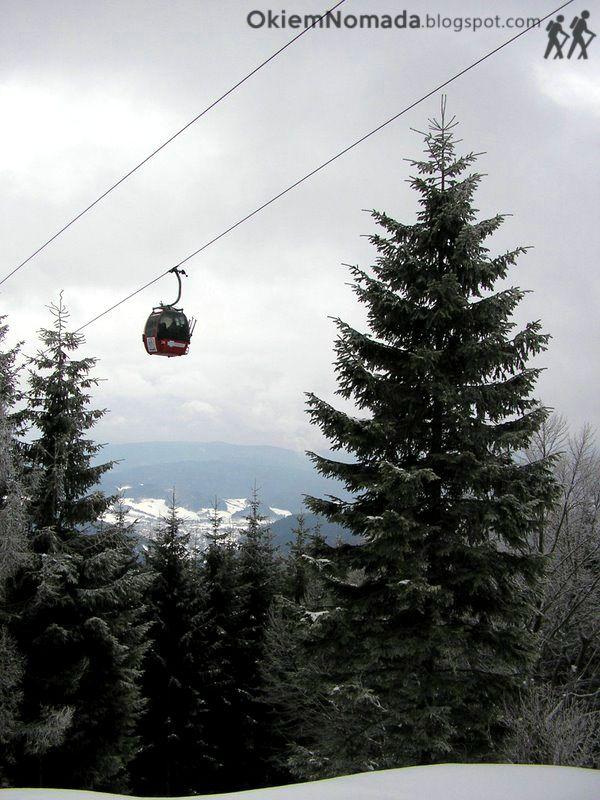 Kolej gondolowa na Jaworzynę Krynicką (Beskid Sądecki), #Krynica-Zdrój, Polska | The gondola lift to the Jaworzyna Krynicka #mountain, Krynica-Zdroj, #Beskid #mountains, #Poland;  see more of our travels at: www.facebook.com/okiemnomada