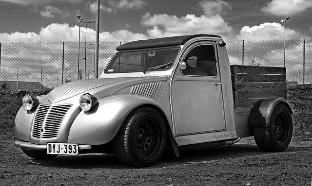 EXPLORED #352 || 2cv pick-up by Jerome Wassenaar..., via Flickr