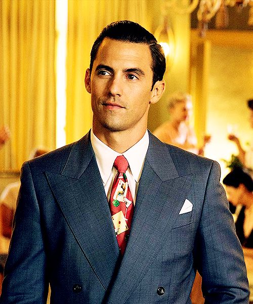 Milo Ventimiglia as Ned Stax in Frank Darabont's Mob City