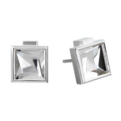 Contempo earrings silver Design Björn Weckström  / Lapponia Jewelry / Handmade in Helsinki