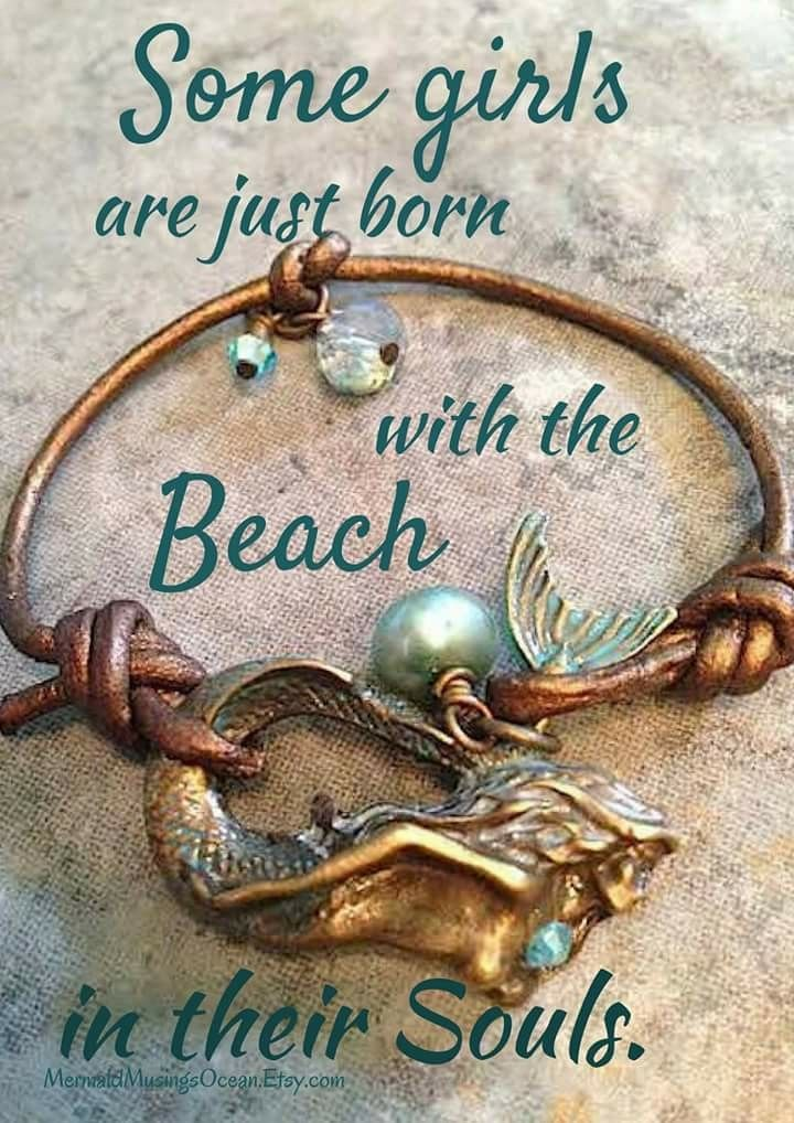 Some girls are just born with the beach in their souls.