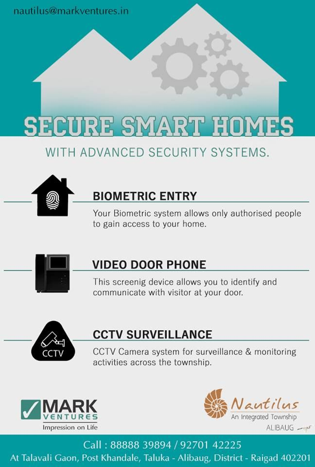 Your family's security is our concern as well. Providing smart secure homes at Nautilus, Alibaug..... http://nautilusalibaug.in/Weekend-Home/