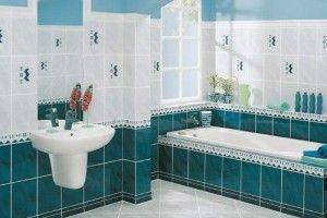 Ванная и туалет в черных и белых цветах - RemontSpravka.com
