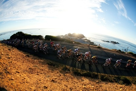 Breathtaking Cape Town as the sun rises on race day