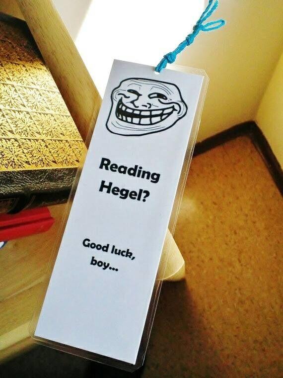 Reading Hegel