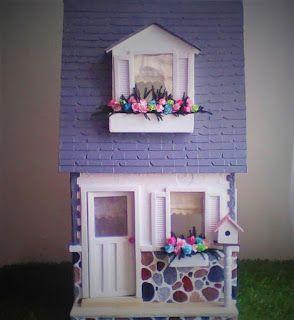 LA CASA DE LA CATRINA  handmade dollhouse