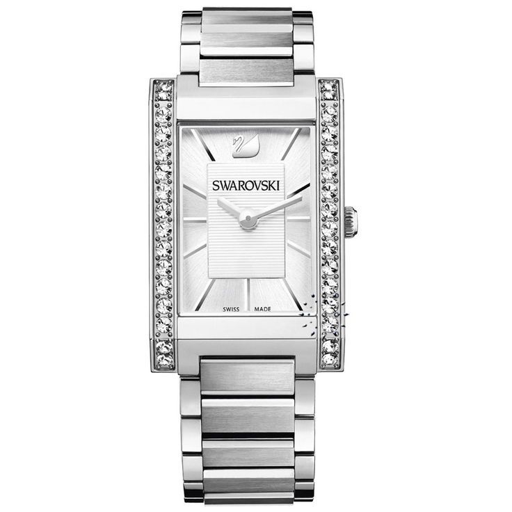 SWAROVSKI Citra Square Stainless Steel Bracelet Τιμή: 360€ http://www.oroloi.gr/product_info.php?products_id=29868