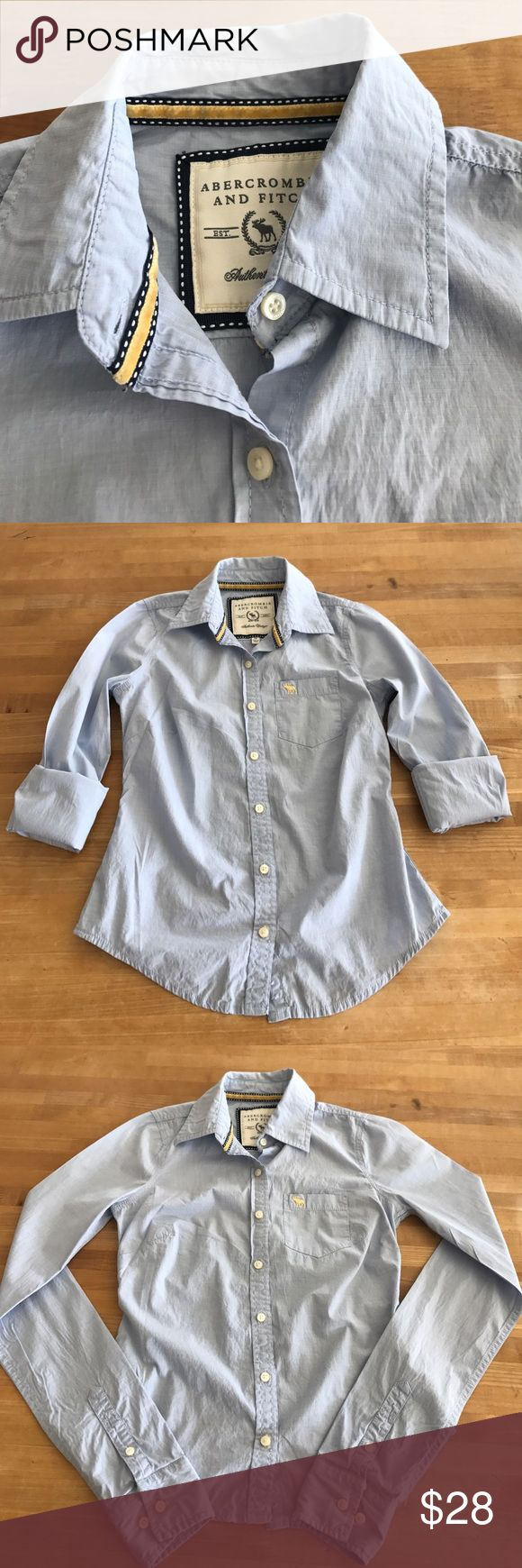 Abercrombie and Fitch Oxford Abercrombie and Fitch Oxford - XS - Blue - Looks new Abercrombie & Fitch Tops Blouses
