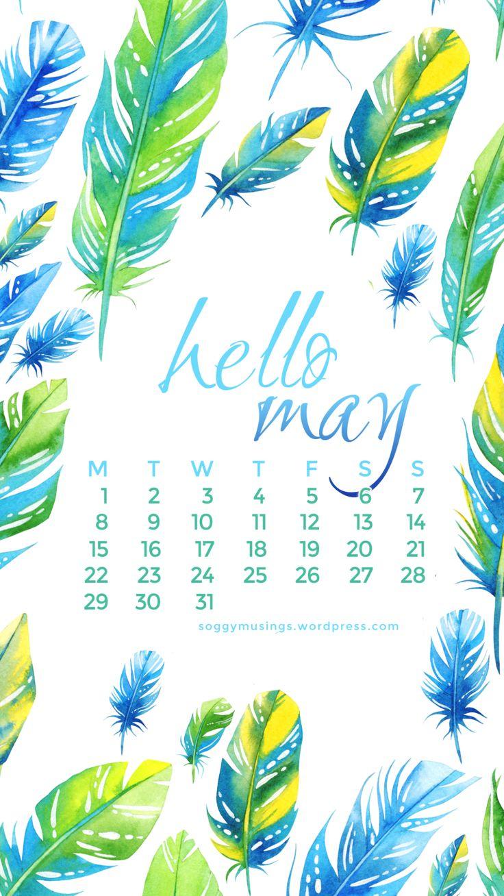 Iphone Backgrounds: May 2017 Wallpaper Calendar